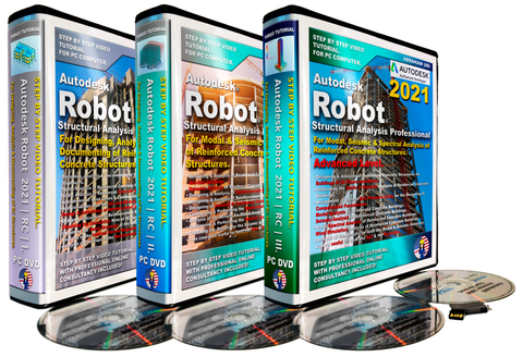 Autodesk Robot 2021 Tutorial | RC | Full Package