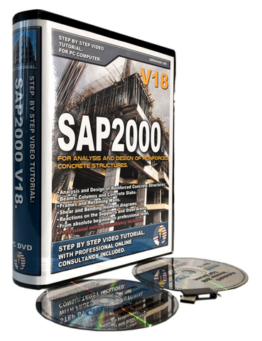 CSI SAP2000 V18 Tutorial. RC