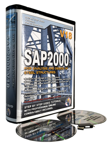 CSI SAP2000 V18 Tutorial. Steel