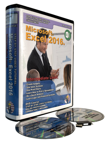 Ms Excel 2016 Tutorial. Intermediate Level.