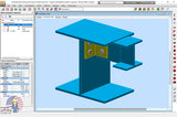 Autodesk Robot 2021 Tutorial. Steel Level III