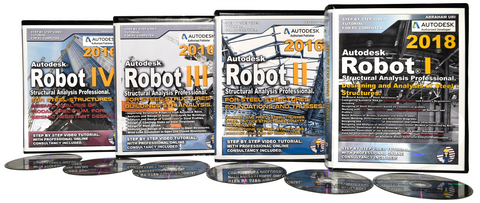 Autodesk Robot 2016 Tutorials Steel. Full Package