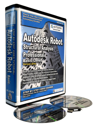 Autodesk Robot 2016 - 2018 Tutorials Full Package II