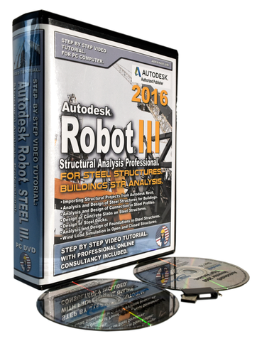 Autodesk Robot 2016 Tutorial. Steel. Level III