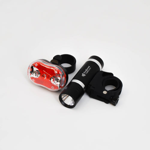 Bicycle headlight and taillight set