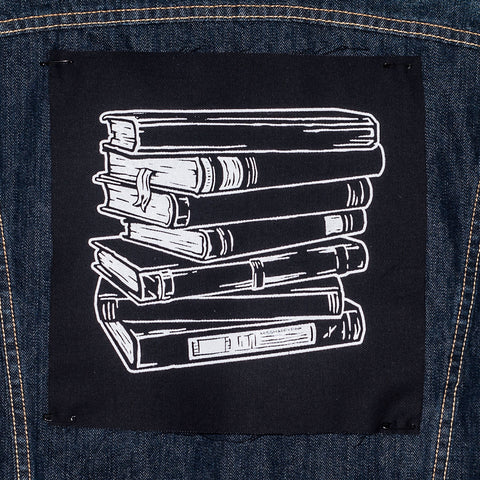 Last Chapter Book Club: back patch