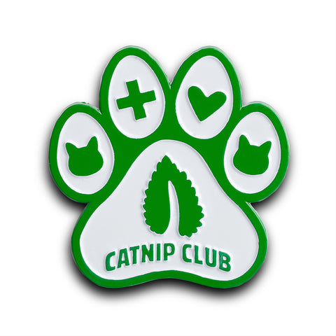 Catnip Club Pin