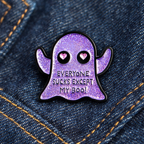 Purple Boo Pin
