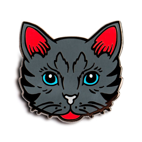 Hardcore Cat Pin