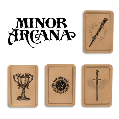 Minor Arcana Cards and Pocket Notebooks