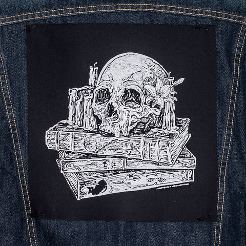 Last Chapter Skull: Back Patch