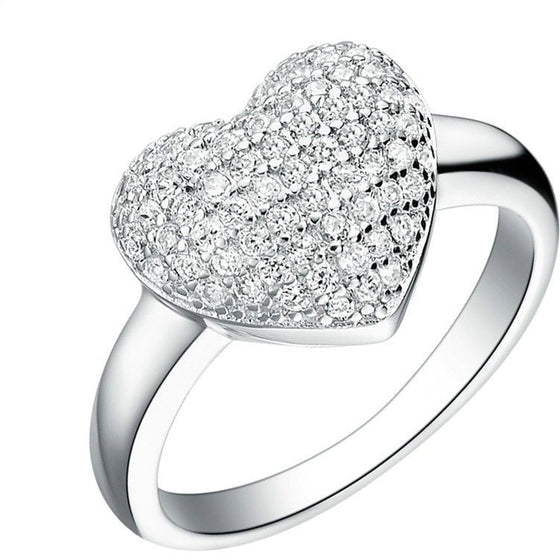 Heart Shaped Love Ring - Brilliant Virtue