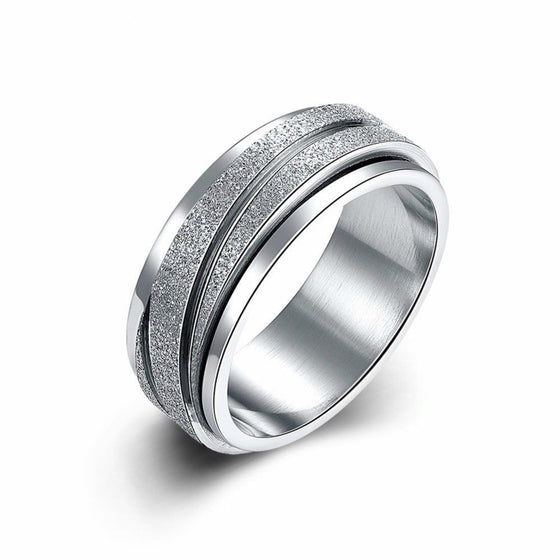 Fashionable Unisex Stainless Steel Ring - Brilliant Virtue