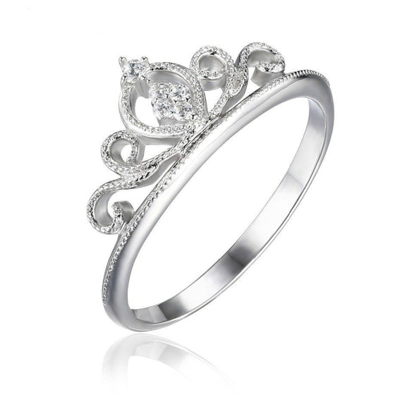 Classical Round Royal Ring - Brilliant Virtue