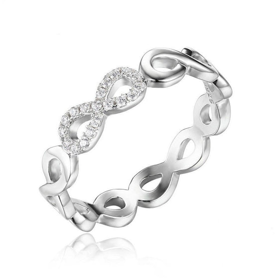 Infinity Forever Love Anniversary Ring - Brilliant Virtue