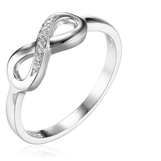 Infinity Love Promise Ring - Brilliant Virtue