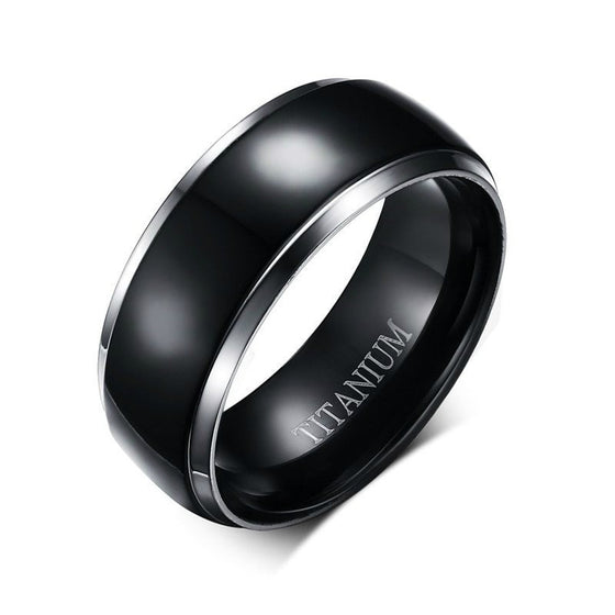 Titanium Spinner Ring - Brilliant Virtue