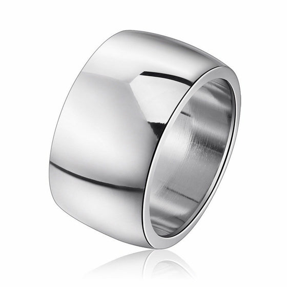 Glittering Stainless Steel Ring - Brilliant Virtue