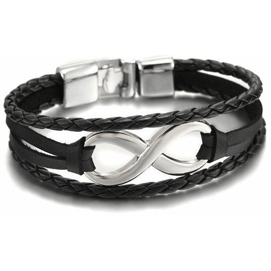 Charming Stainless Steel Infinity Bracelet - Brilliant Virtue