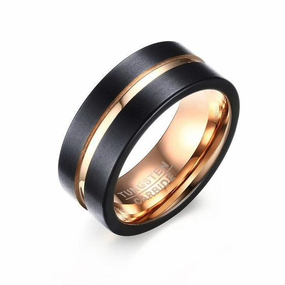Fashionable Tungsten Steel Ring - Brilliant Virtue