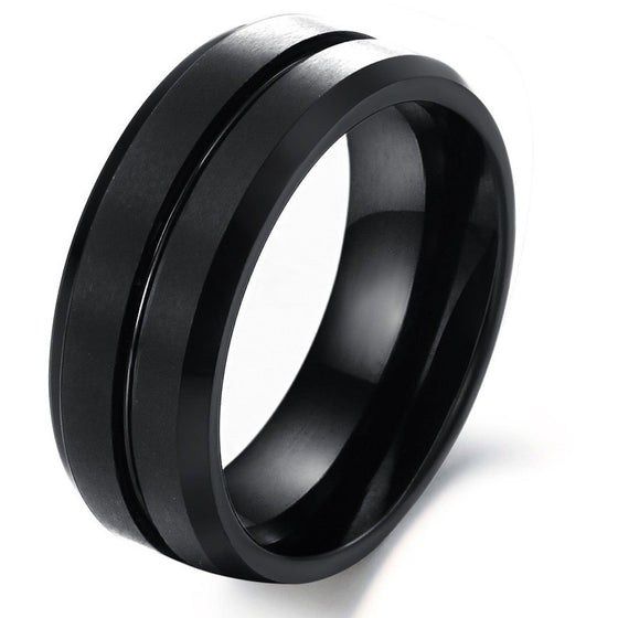 Fashion Jewelry Tungsten Ring - Brilliant Virtue