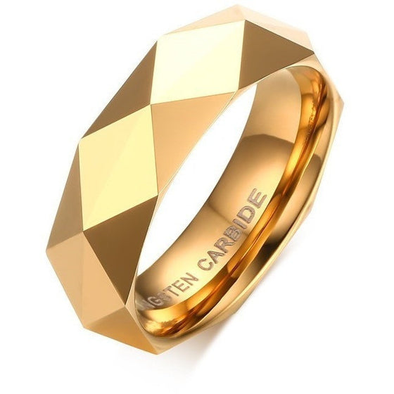 Elegant Rhombus Cut Ring - Brilliant Virtue