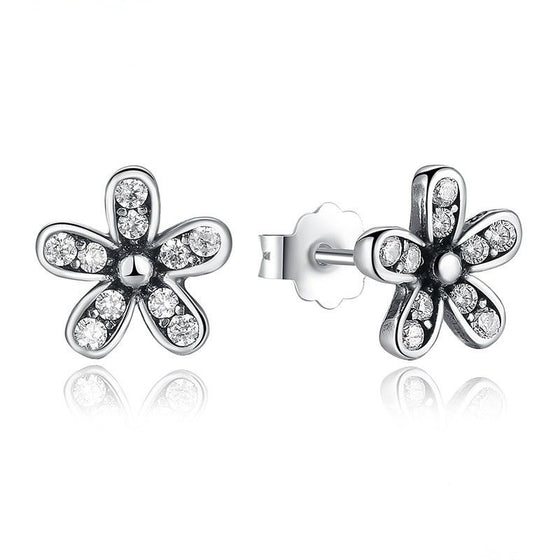 Winsome Daisy Stud Earrings - Brilliant Virtue
