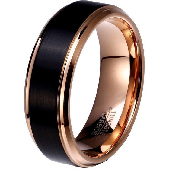 Amazing Friendship Tungsten Ring - Brilliant Virtue