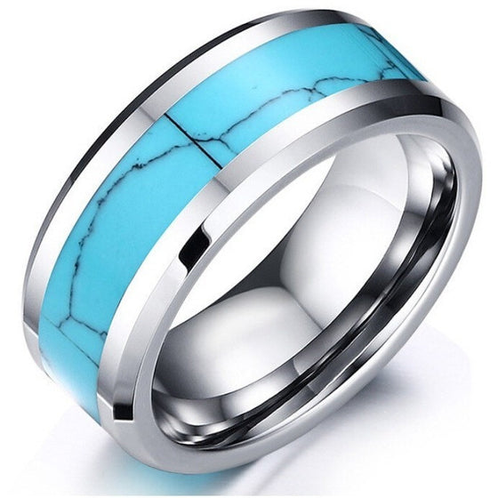 Fabulous Vintage Tungsten Ring - Brilliant Virtue
