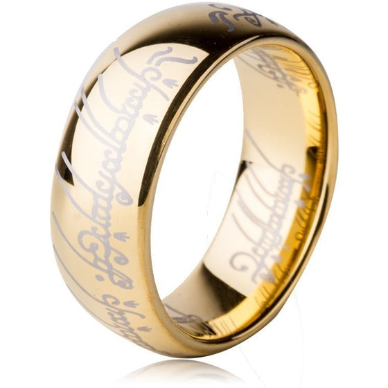 Lord of The Rings Themed Ring - Brilliant Virtue