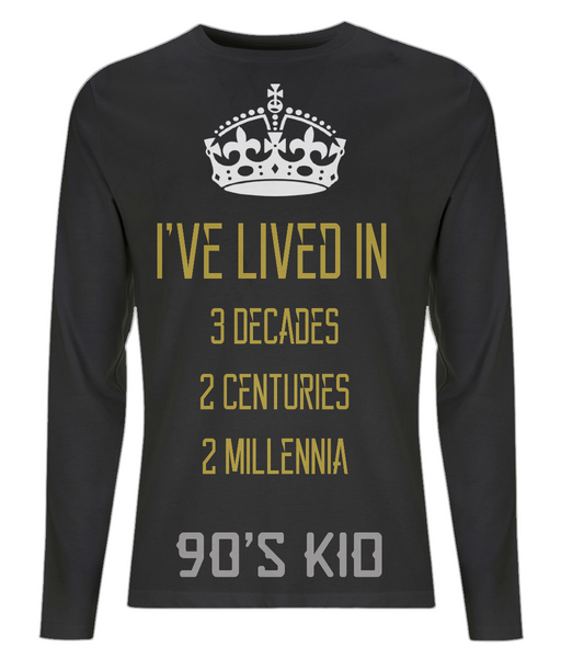90s Kid Men's Long Sleeve T-Shirt - Royal Steampunk