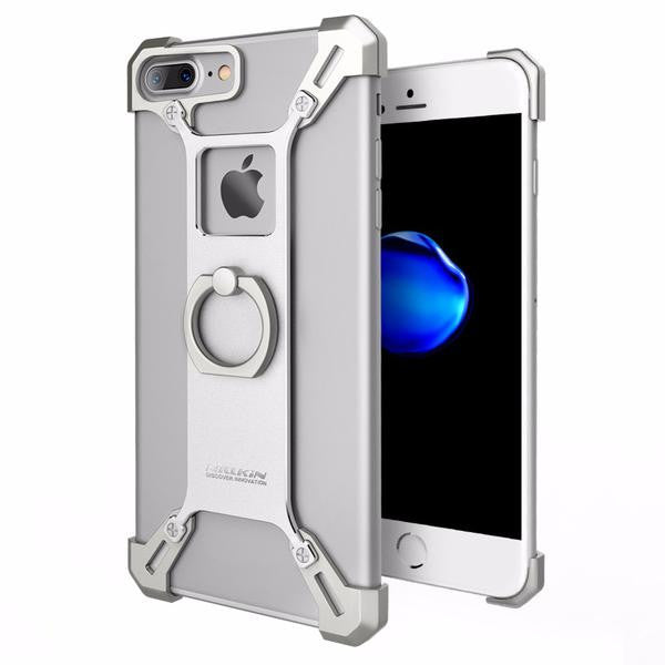 iPhone 7 Plus Aluminium Case Armor - Royal Steampunk