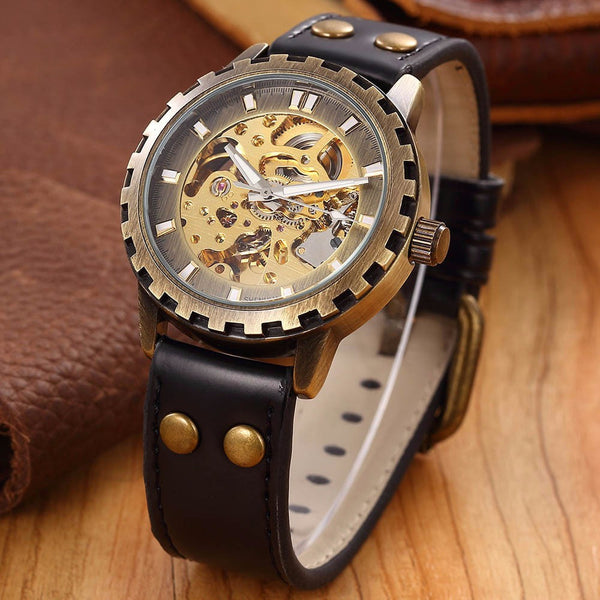 The General | Military Steampunk Watch - Royal Steampunk