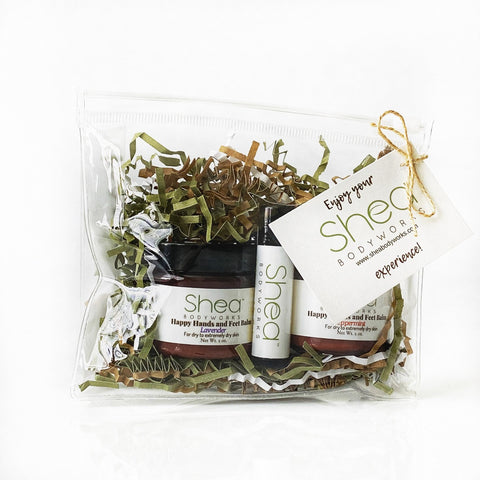 Gift Set - Lavender & Peppermint Happy Hands and Feet Balm & O Honey lip Balm