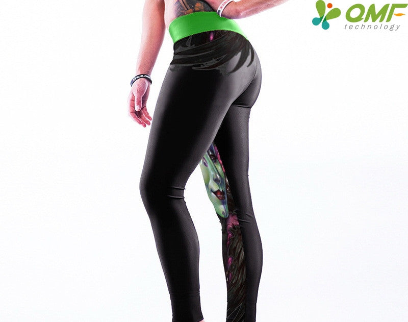 Sugar Skull Yoga Leggings ST3