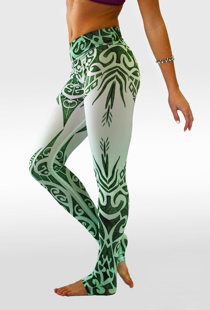 Tree Leaf New Push Up Skinny Leggings