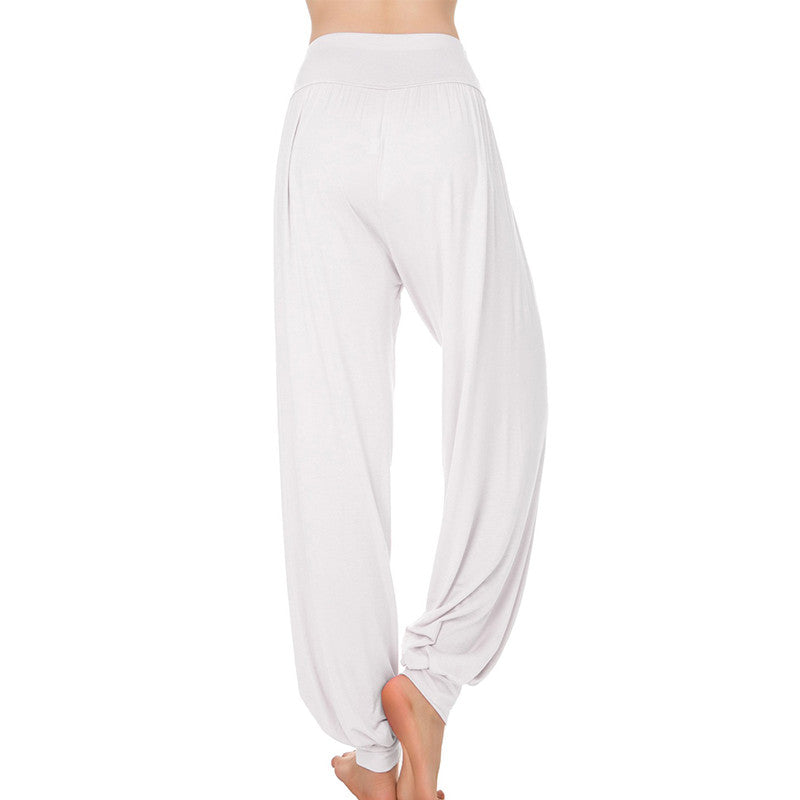 Full Length Wide Leg Loose Taichi Belly Dance Sport Pants
