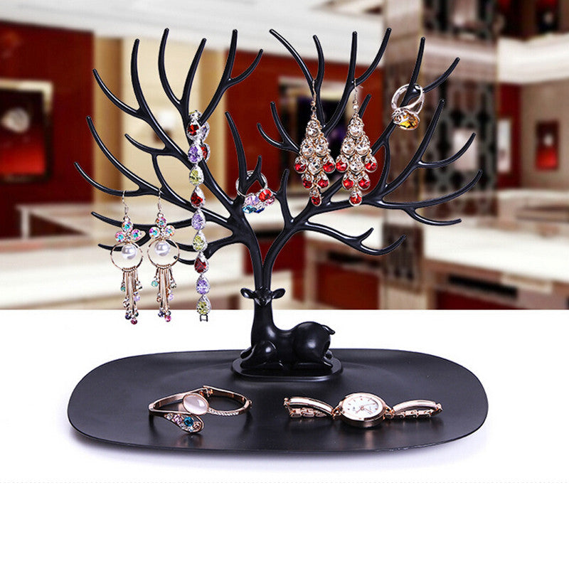Multi-functional Deer Shape Jewellery Display Stand