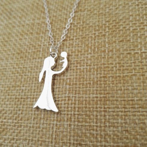 Mother's Day Gift Jewellery silver plated Necklace