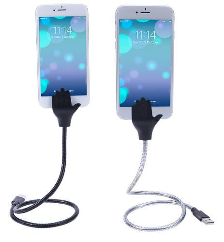 Flexible Stand up Micro USB 2.5A Charger