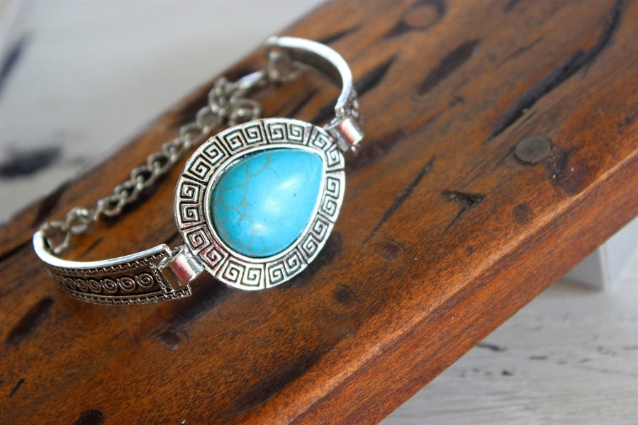 Turquoise Bracelet Silver 2 Girls 1 Shop