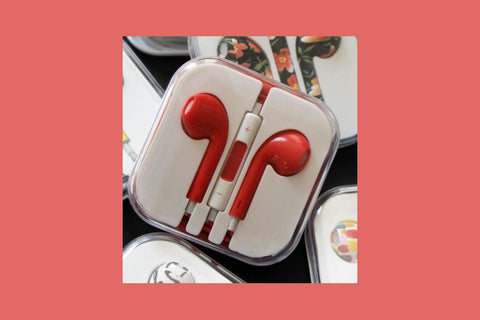 Colorful Ear Buds - 12 Styles! .....................-2 Girls 1 Shop