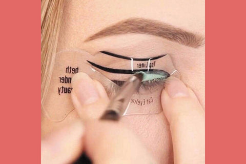 Eyeliner Stencil Template ....................-2 Girls 1 Shop