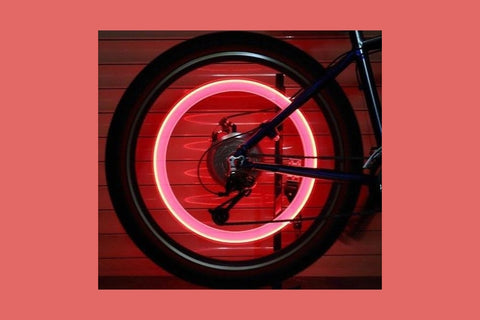 LED Bike Lights Great Gift! ....................-2 Girls 1 Shop