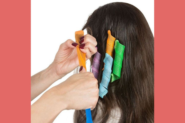 Magic Hair Curlers -18 Curlers with 2 Hooks!