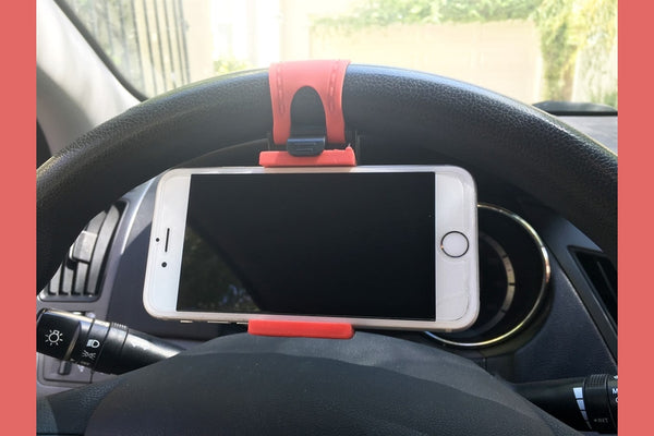 Steering Wheel Cell Phone Holder-2 Girls 1 Shop