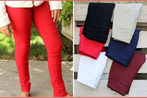 Stretch Skinny Jeggings - Best Fit Ever!-2 Girls 1 Shop