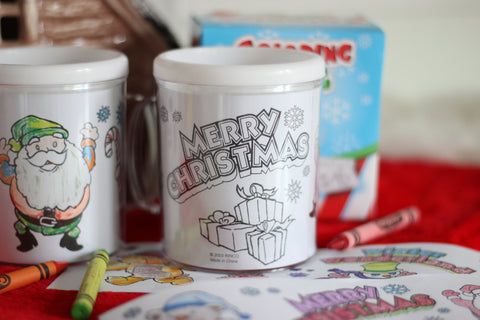 Christmas Coloring Mug | 2018 Best Christmas Gifts