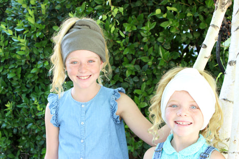 Season Must Kids Peek-a-Boo Pony Hole Beanie - 5 Colors!-2 Girls 1 Shop