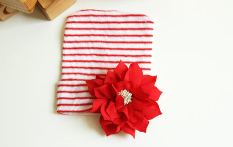 Newborn Holiday Hospital Hats-2 Girls 1 Shop